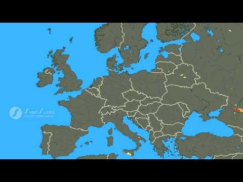 Lightning in Europe May 2015