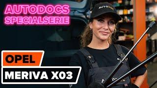 Underhåll Opel Meriva x03 - videoinstruktioner