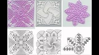 Схемы вязания крючком (№2rg)(Идеи для творчества, изготовление цветов из ткани, интересное рукоделие, поделки, шедевры, мастер-класс,..., 2014-07-03T02:54:51.000Z)