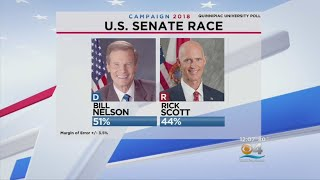 Latest Quinnipiac Poll Has Bill Nelson Ahead By 7 Points