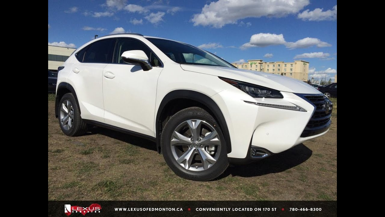 Executive Demo White 2015 Lexus Nx 200t Awd Executive Package Review