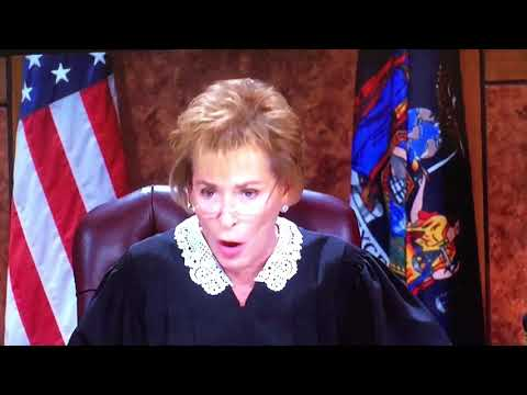 ** Judge Judy** look At Your Mom-nice laugh-