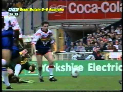 Shaun Edwards Red Card/High Tackle on Bradley Clyde