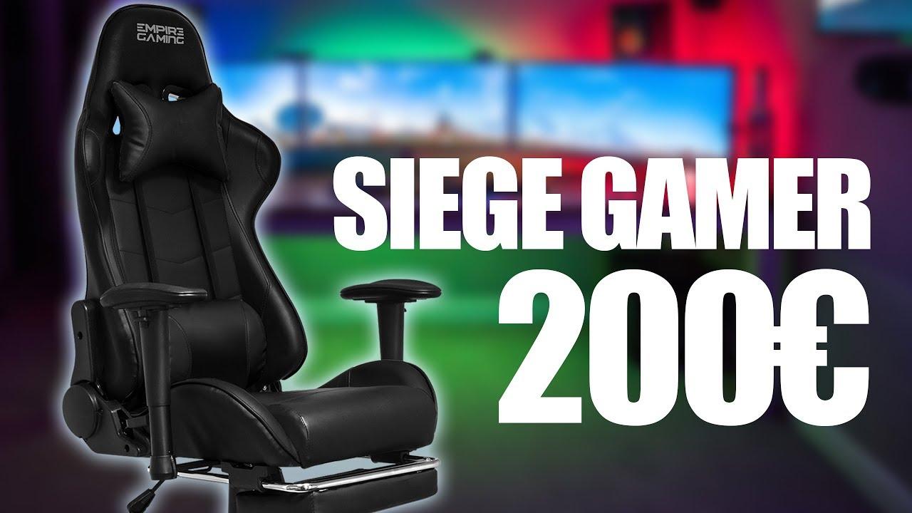 check-out 4ff1b 04f16 UN SIÈGE GAMER A 200€ - EMPIRE GAMING RACING 800