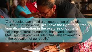 International Indigenous Proclamation: Protecting Sacred Sites