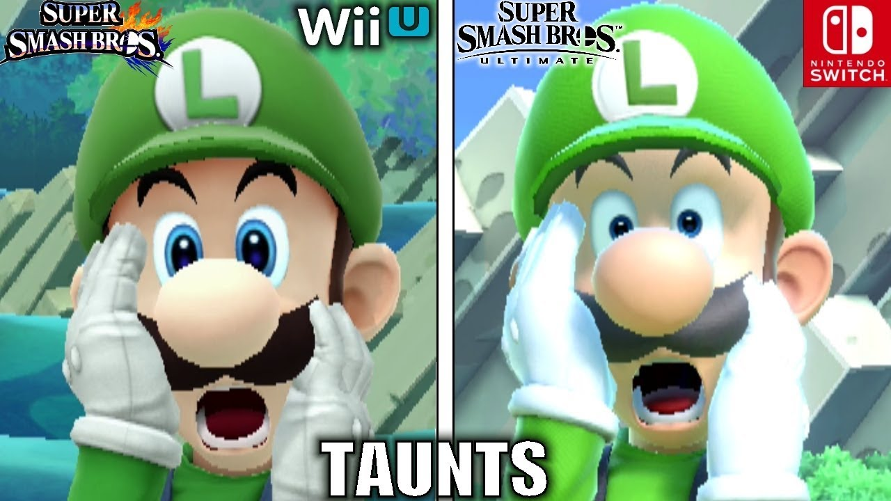 Image result for Smash Bros Taunts Comparison (Wii U VS Ultimate - Graphics, Voice, Taunt Changes & MORE!)