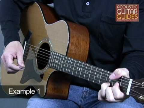 Acoustic Guitar Lesson Open String Chords Lesson With Andrew