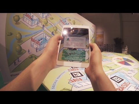 Augmented Reality Quiz Game with iPads
