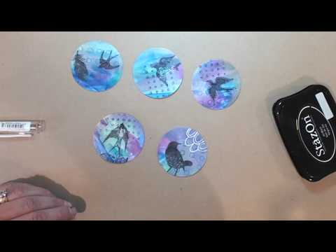 Artist Trading Coins Tutorial/Process Video