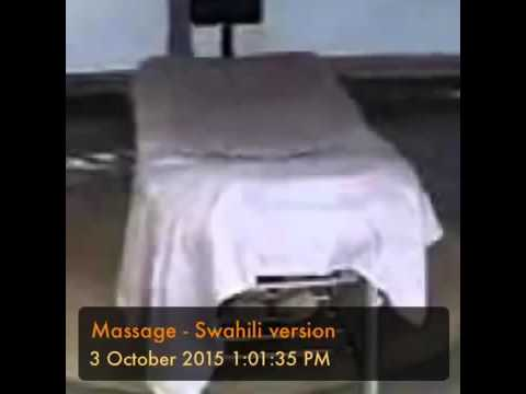 Massage-swahili version