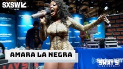 """Amara La Negra Performs """"Insecure"""" & """"What A Bam Bam"""" Live on Sway In The Morning at SXSW"""