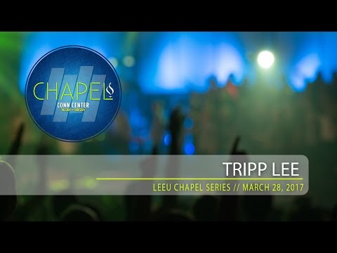 Lee University Chapel // Trip Lee // March 28, 2017