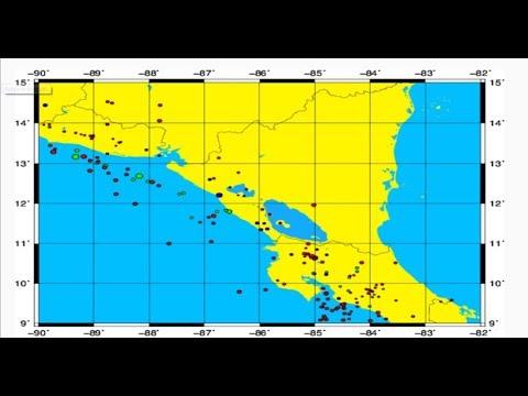 Más de 50 sismos sacuden Centroamérica