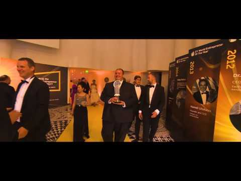 EY World Entrepreneur Of The Year 2017 highlights