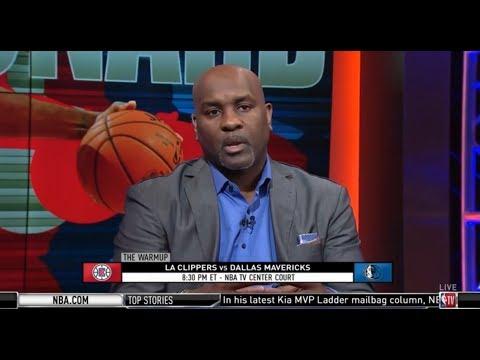 Gary Payton Excited La Clippers Vs Dallas Mavericks Luka Doncic 28 9pts