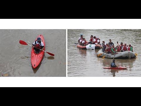 Mega rafting event organized in Bagmati River