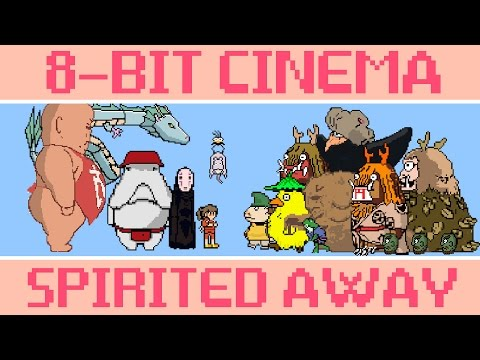 Spirited Away – 8 Bit Cinema