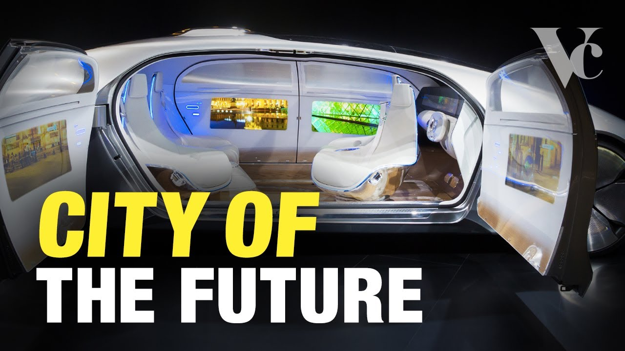 The Self Driving City of the Future (and Elon Musk's Robotaxis)