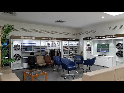 This Hyundai Showroom Is Massive|Car Collection And Genuine Accessories|Alloys