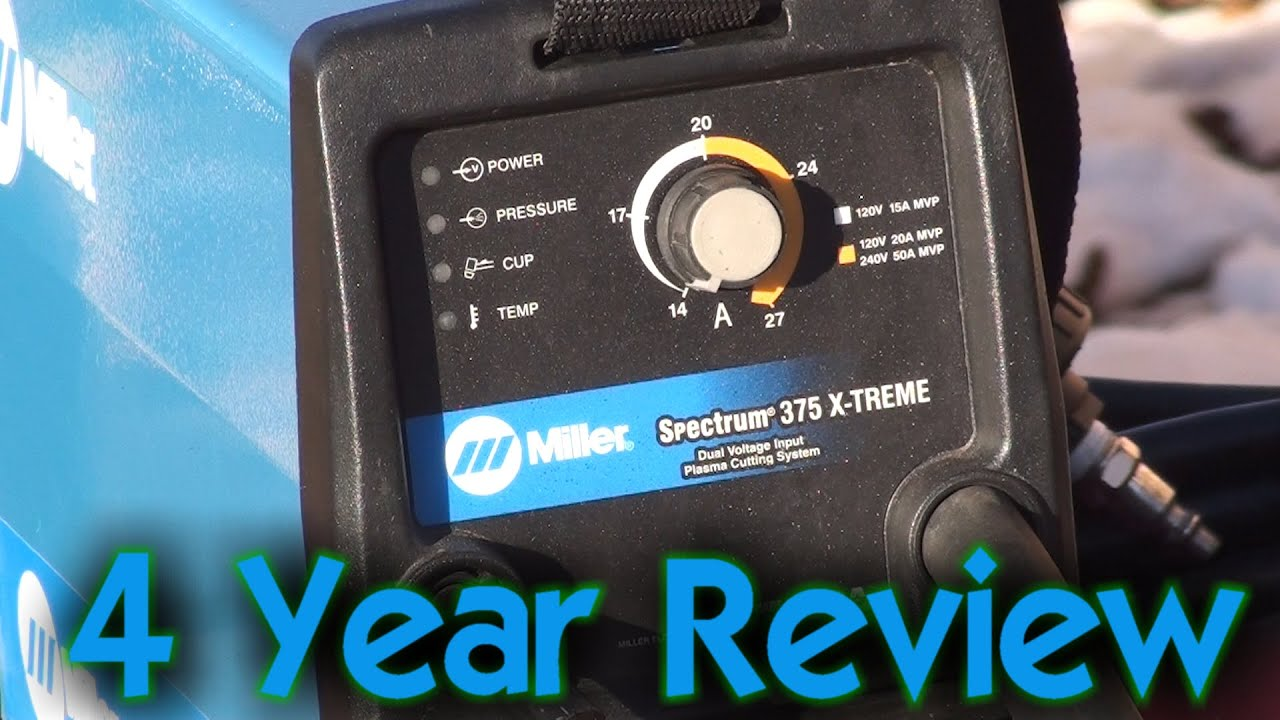 Miller Spectrum 375 >> Miller Spectrum 375 X-treme Plasma Review - YouTube