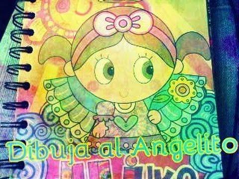 APRENDE a dibujar al Angelito de Distroller by CK* - YouTube