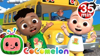 Wheels on the Bus (Family Version) + More Nursery Rhymes & Kids Songs - CoComelon