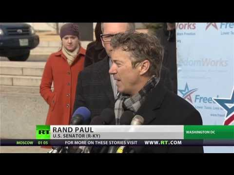 Rand Paul sues President Obama over NSA spying