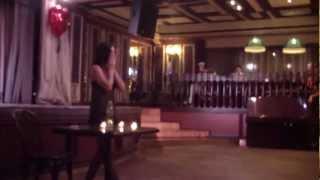 Выступление Елены Прель на вечеринке Love2U Party