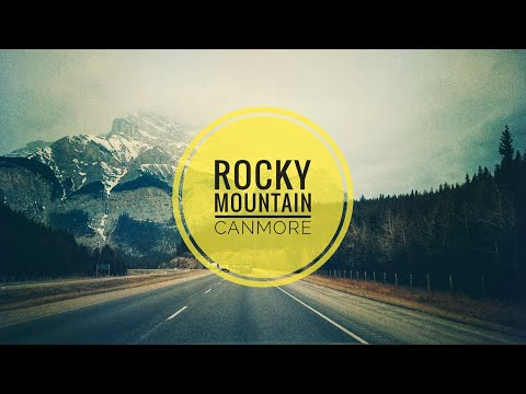 Driving Alberta [Rocky Mountains] Calgary To Canmore