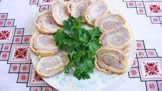 Рулет из курицы Курячий рулет просто и очень вкусно Курячий рулет рецепты из курицы куриные рулеты