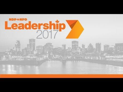 Débat de la course au leadership du NPD - Montréal // NDP Leadership 2017 Debate - Montreal