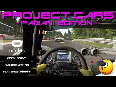 Project Cars: Pagani Edition | VR | Oculus Rift | GeForce GTX 1060