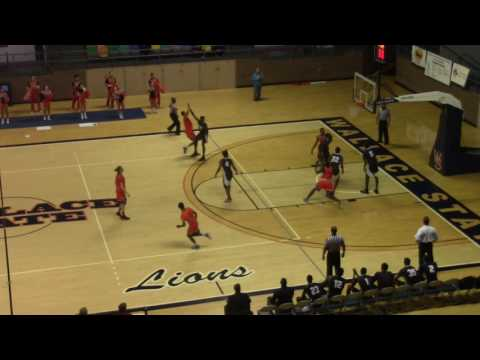 Wallace State CC Men's Basketball vs Chipola College-Highlights (11.11.16)