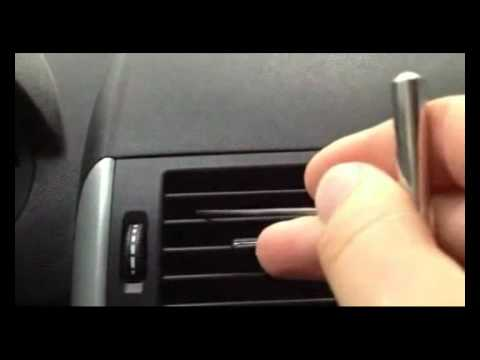 Mercedes Benz A Class W169 Remove Central Airflow Deflector Youtube