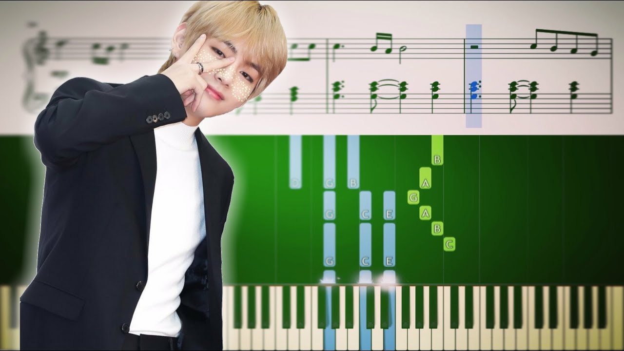 BTS - Boy With Luv feat  Halsey - Piano Tutorial + SHEETS