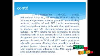 Placement and Performance Analysis of Virtual Multicast Networks in Fat-Tree Data Center Networks
