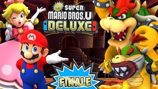 ABM:  Super Mario Bros U Deluxe!! FINALE Gameplay *Special Guest is here!!* !! ᴴᴰ