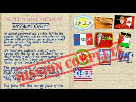 Mission 08 - (2001) Where in the World Is Carmen Sandiego - Treasures of Knowledge
