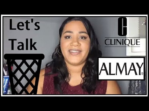 Lets Talk Trash | Make up review| Clinique | Almay