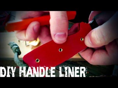 DIY Knife Handle Liners