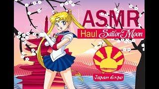 ASMR Español 🌘 :  Haul Sailor Moon JAPAN EXPO 2018