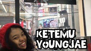 Ke JYP Entertainment Building, ketemu Youngjae (Got7)
