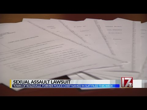 Lawsuit accuses former Rolesville police chief of sexual assault