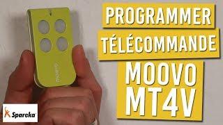 Comment programmer votre télécommande MOOVO MT4V ?