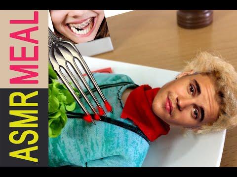kluna Eating Justin Bieber Kluna tik VT dinner   ASMR eating sounds