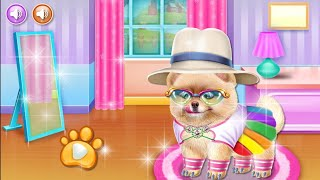 Beautiful Caring Dog Game 🐕 | Dog Care Android Gameplay | How to Play Dog Caring Game | Pet Caring