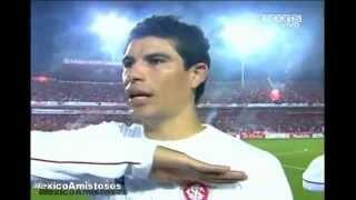 Grosería al Himno Nacional Mexicano y grosería del Bofo CHIVAS V.S. INTER