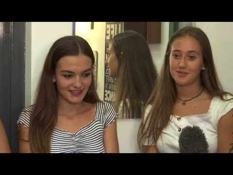 GCSE success - students receive their results