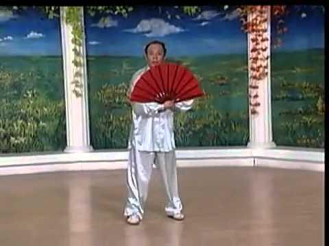 李德印 太極功夫扇教學(上)   FunnyCat.TV