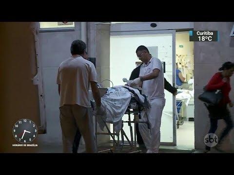 SP: Paciente morre após esperar 4 horas  por atendimento em hospital   SBT Notícias (26/10/17)